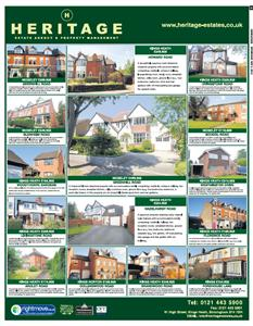 Homeseeker / Birmingham Mail News Advert ~ July