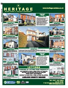 Homeseeker / Birmingham Mail News Advert ~ March / April